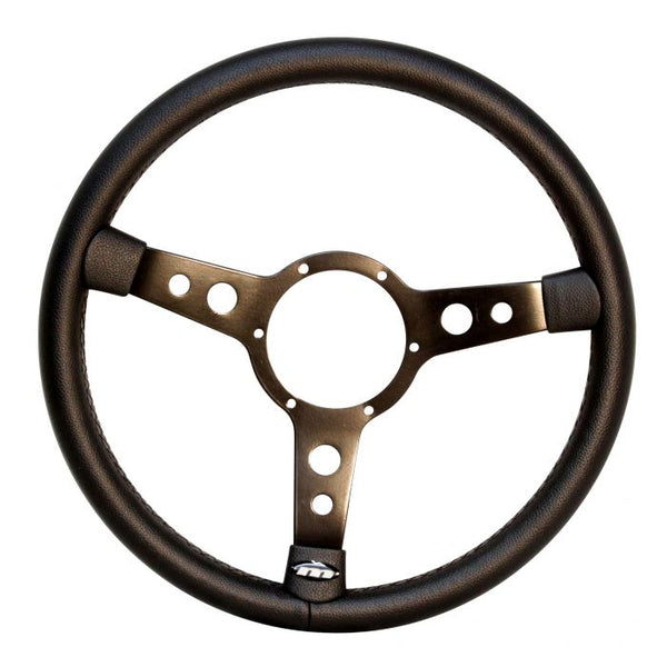 VW Kombi or Beetle Black Vinyl Steering Wheel