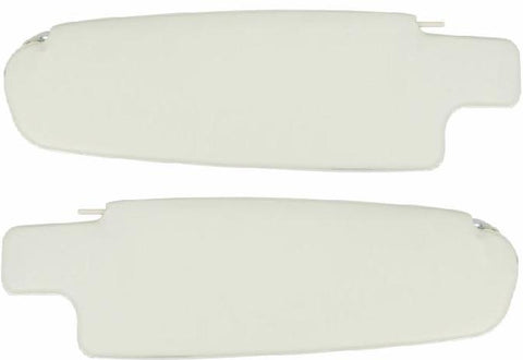 VW Kombi Sunvisor Pair in White