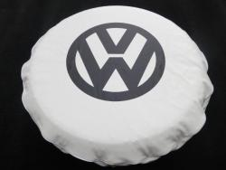 VW Kombi Spare Wheel Cover White