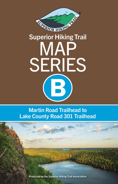 SHT Map Series B: Martin Road Trailhead to Lake County Road 301 Trailhead