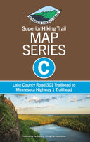 SHT Map Series C: Lake County Road 301 Trailhead to Minnesota Highway 1 Trailhead