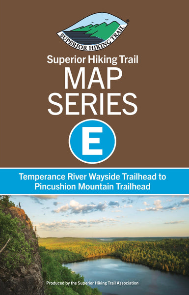 SHT Map Series E: Temperance River Wayside Trailhead to Pincushion Mountain Trailhead