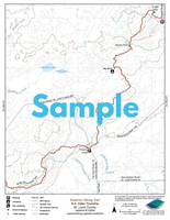 SHT Map Series D: Minnesota Highway 1 Trailhead to Temperance River Wayside Trailhead