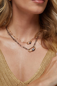Luca Lock Necklace
