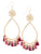 Garden of Eden Flower Tassel Earrings - Port
