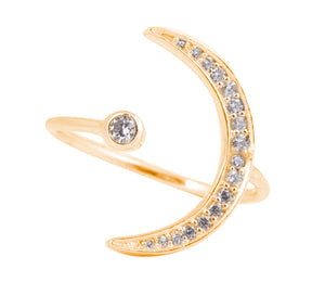 New Moon Ring - Gold