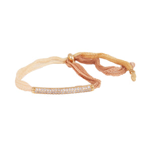 Silk Road CZ Barre Bracelet