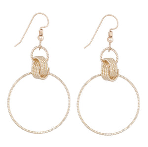 Delphina Earrings - Gold