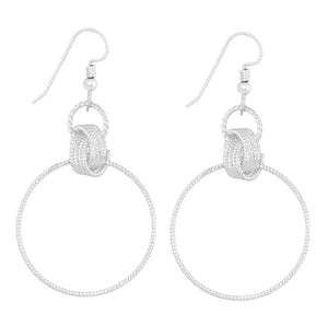Delphina Earrings - Silver