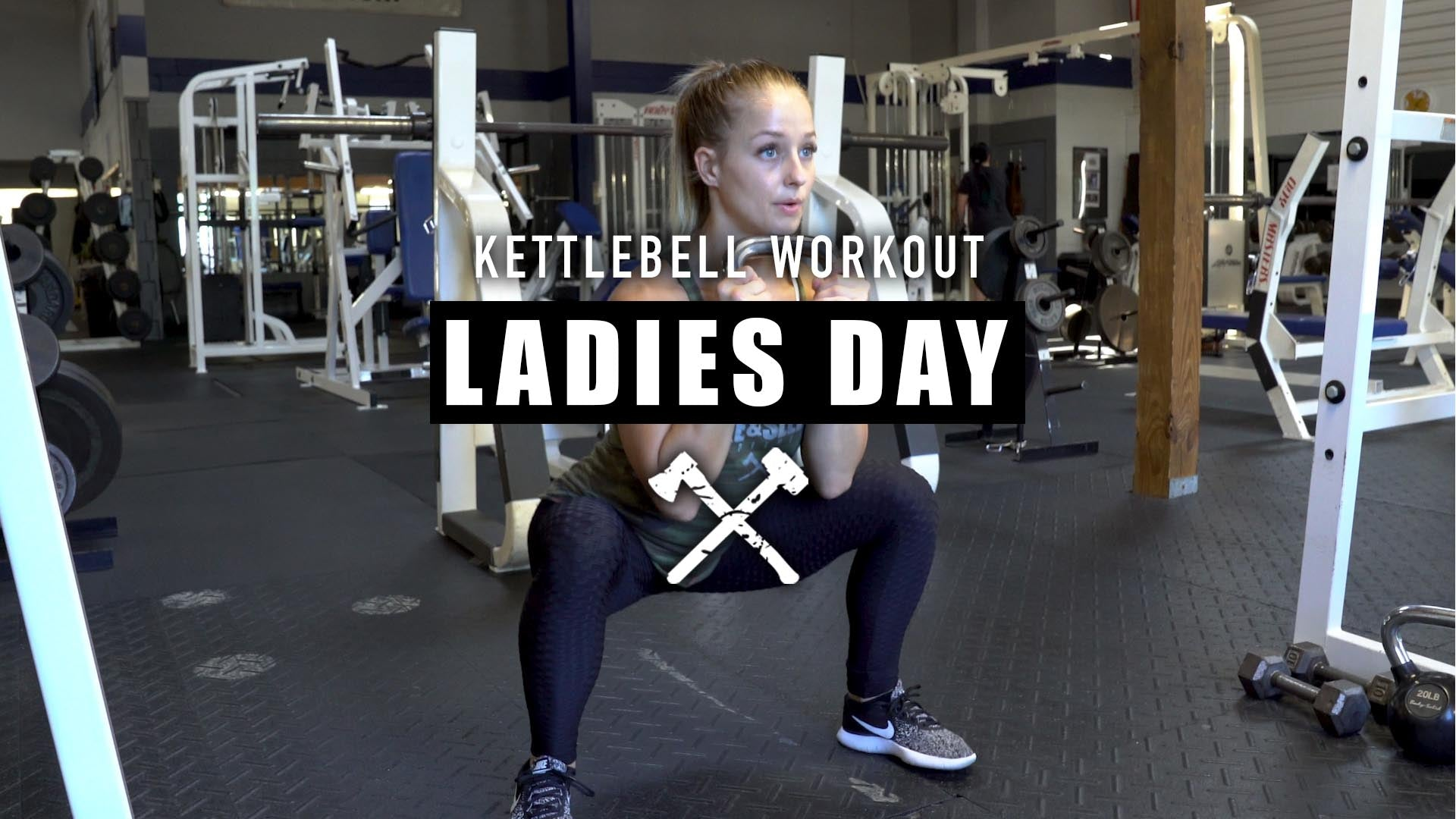 Kettlebell Workout | Ladies Day
