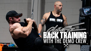Seth Feroce | Back Training - With The Demo Crew
