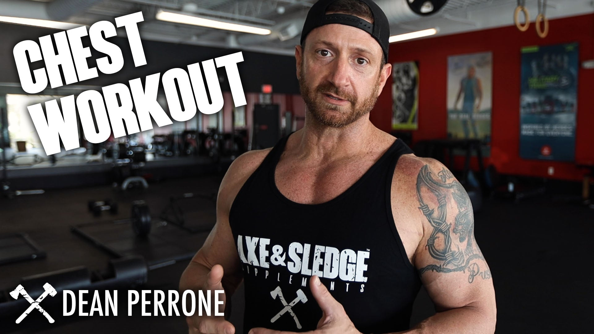 Basic Chest Workout w/ Dean Perrone!