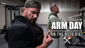 Seth Feroce | Arm Day - On The Keto Diet