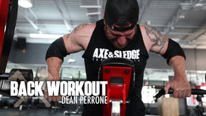 Back Workout w/ Dean Perrone | Axe & Sledge