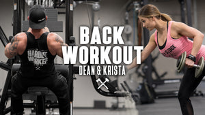 Dean & Krista - Back Workout!