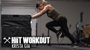 Krista Gia Goes Through a HiiT Workout