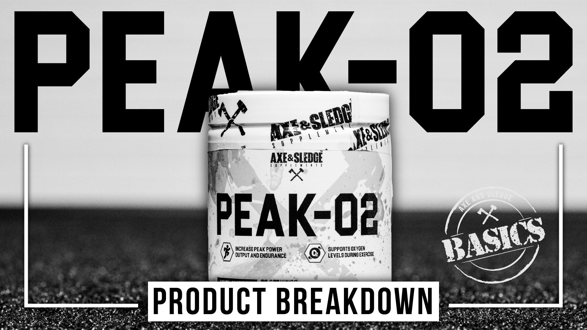 Peak-O2 Product Breakdown