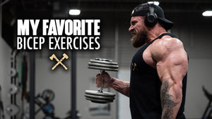 Seth's Favorite Bicep Exercises!