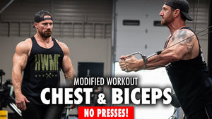 Chest & Biceps Workout with No Presses!