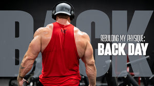 Rebuilding My Physique: Back Day | Seth Feroce