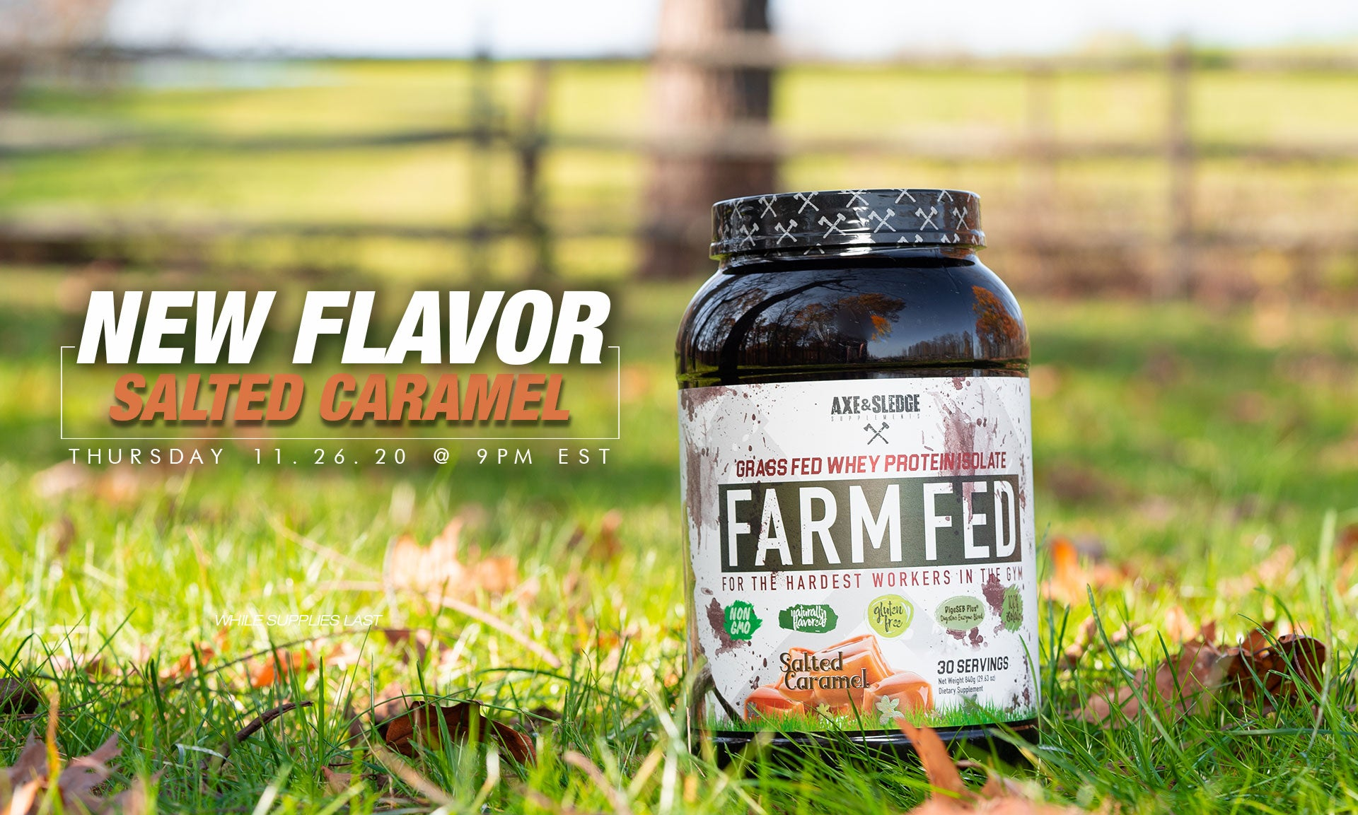 Farmfed Salted Caramel