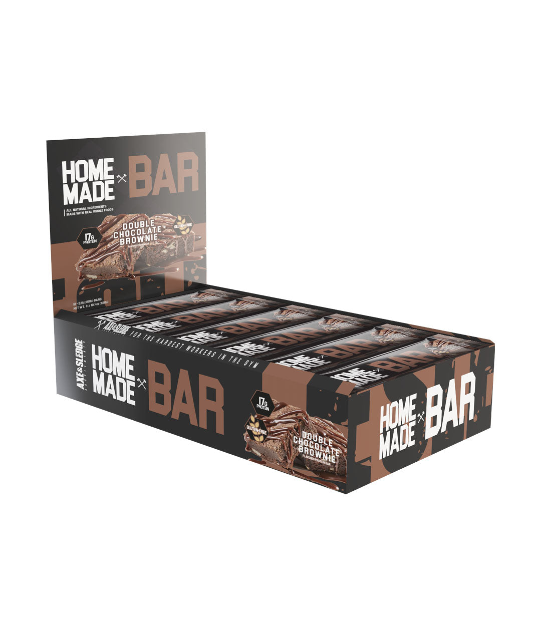 Home Made Bar - Box of 12 // Double Chocolate Brownie