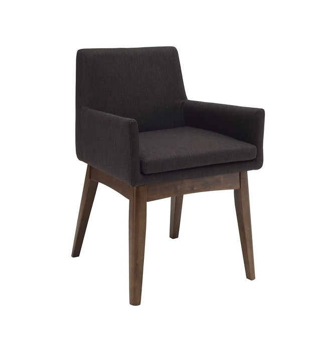 Chanel Dining Armchair - Mud & Cocoa