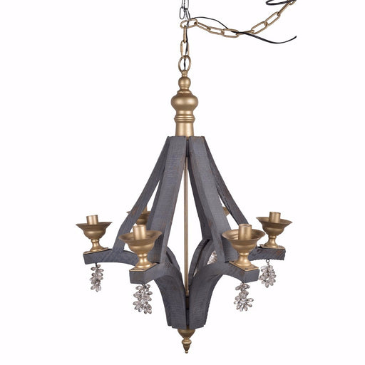 Artfully Traditional Calder Chandelier