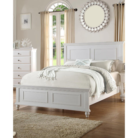 C.King Wooden Bed