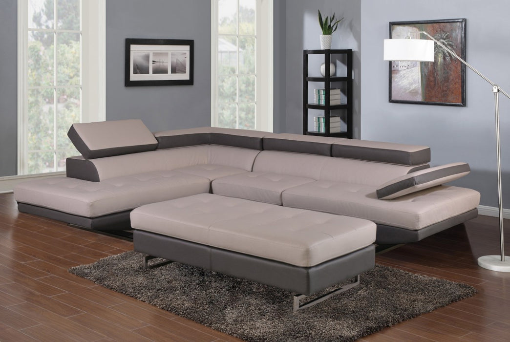 Two-Tone Sectional LAF
