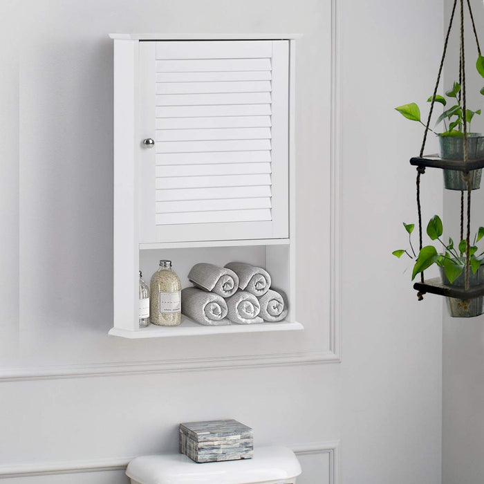 "27.5"" H Wall Hanging Bathroom Storage Cabinet"