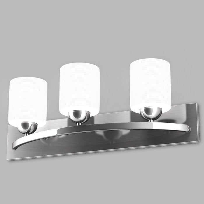 Glass Wall Sconce for 3 Bulbs