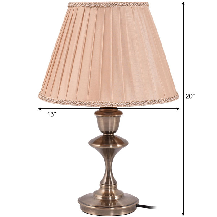 Antique Brass LED Bulb Table Lamp