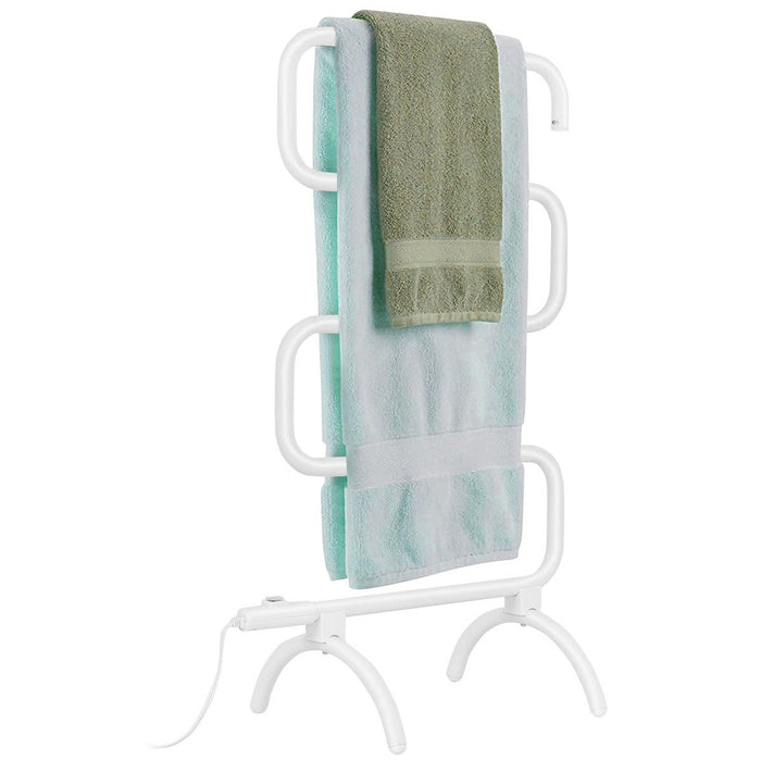 100W Electric Towel Warmer Drying Rack