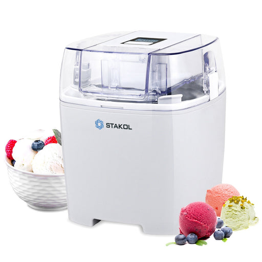 1.6 Quart Automatic Ice Cream Maker Freezer Dessert Machine