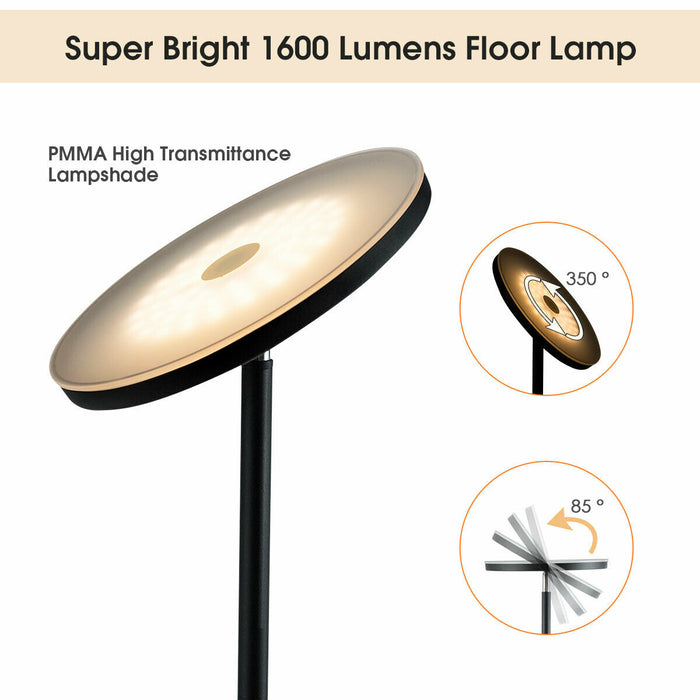 Light Modern Touch Control Floor Lamp