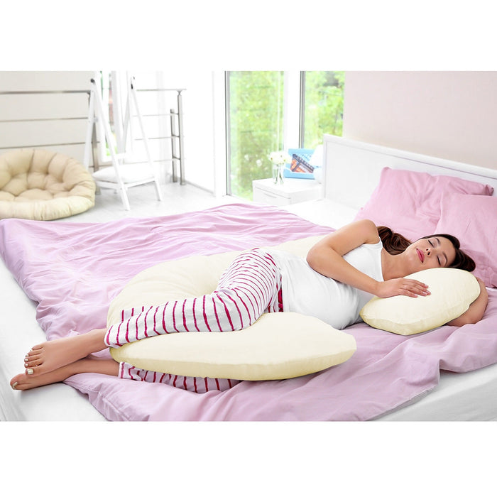 C Shape Total Body Pillow for Expectant Mothers