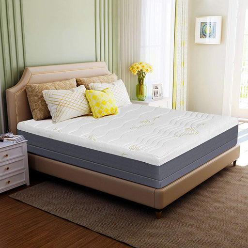 "10"" Memory Foam Bamboo Fiber Mattress"