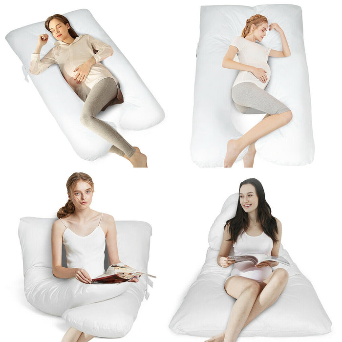 Pregnancy Full Body U Shaped Nursing Cushion