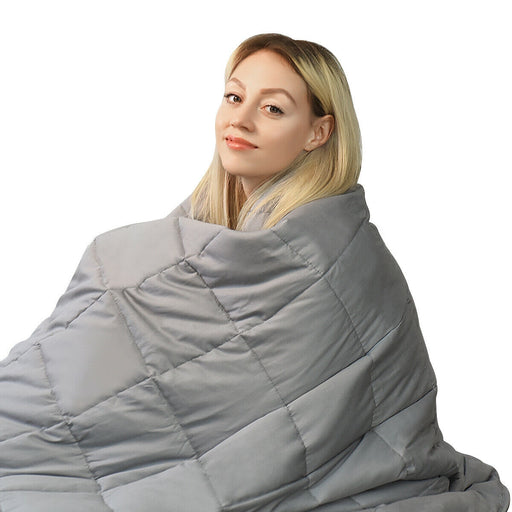 "41"" x 60"" 7 lbs 100% Cotton Weighted Blankets"