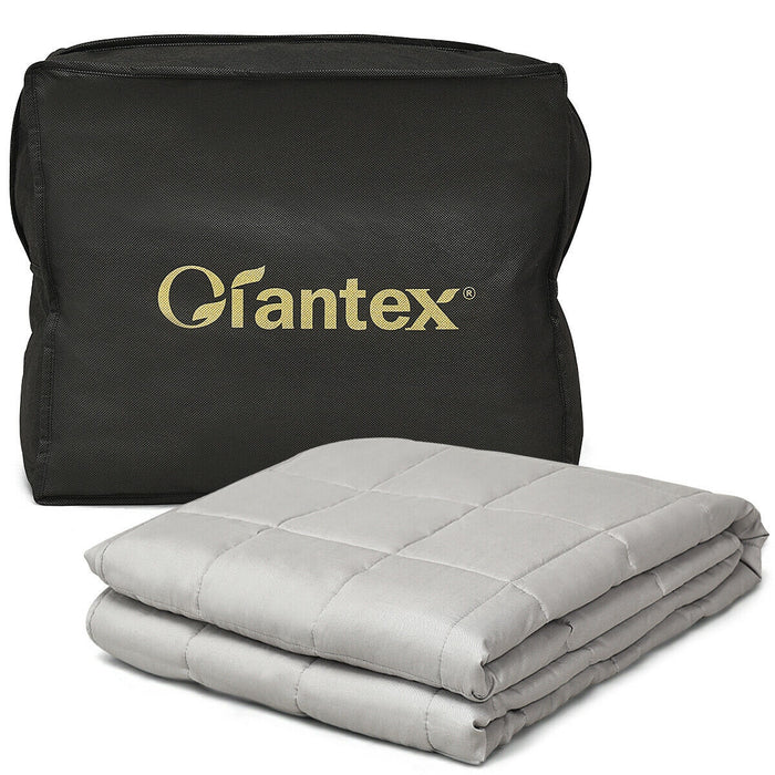 15 lbs 100% Cotton Weighted Blankets