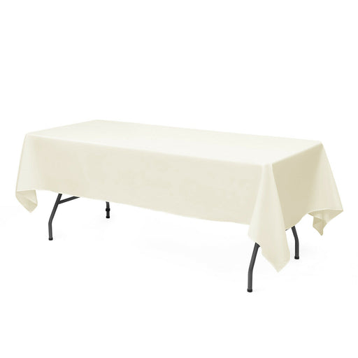 "10 pcs 60"" x 126"" Rectangle Polyester Tablecloth"