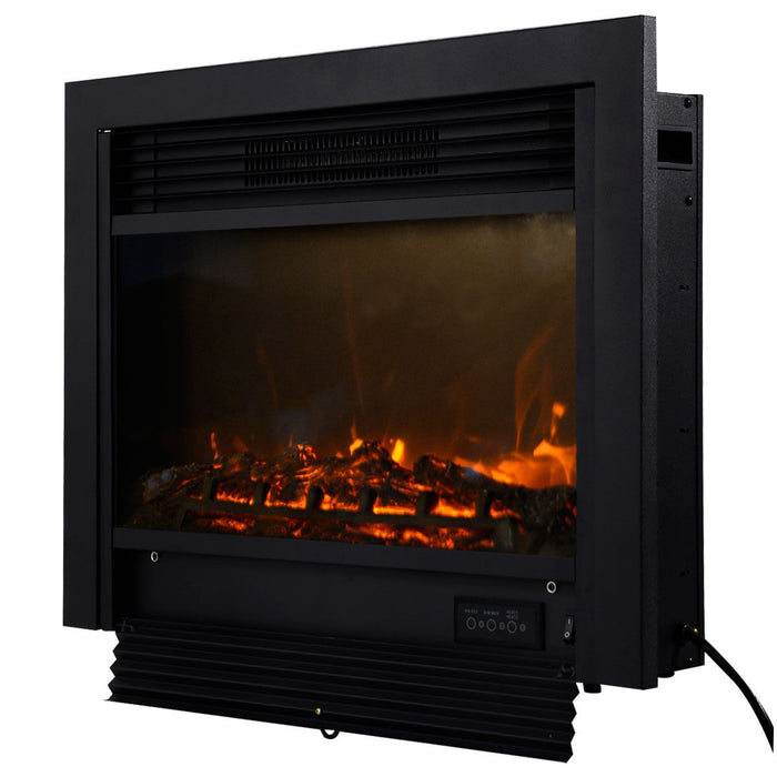 "28.5"" Electric Embedded Insert Heater Fireplace"