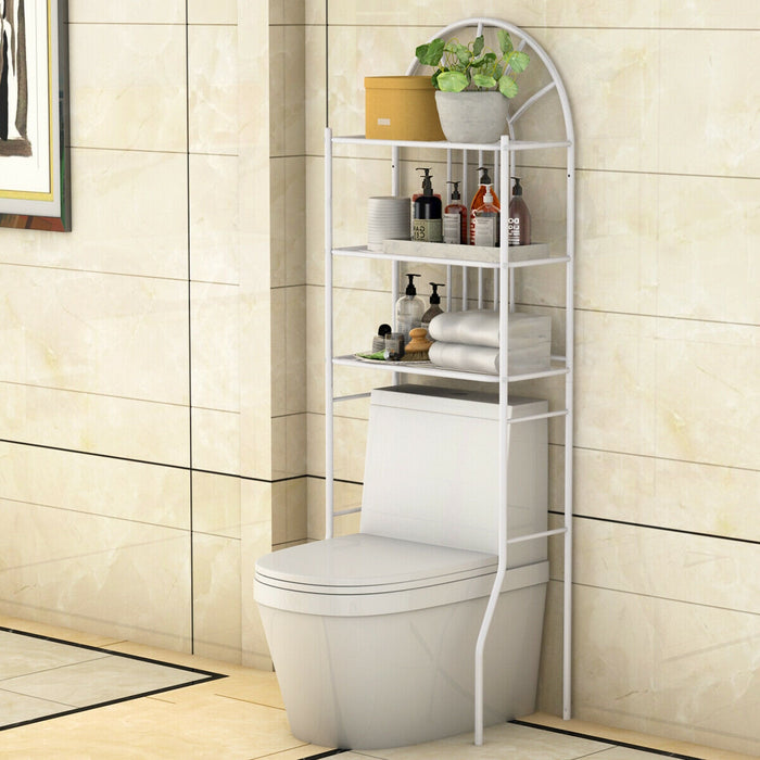 Bathroom Towel Storage Rack with 3 Shelves