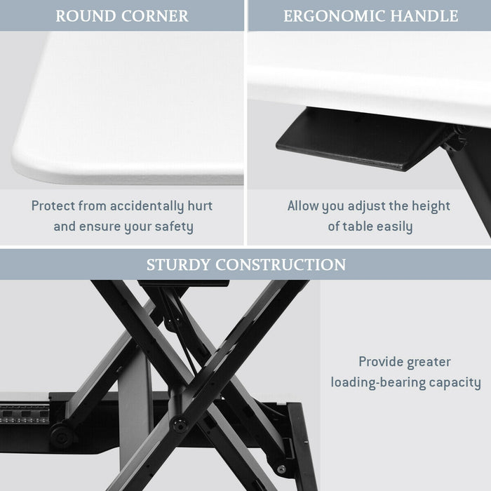 Slim 8 Adjustable Standing Folding Lap Desk