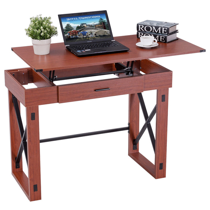 Home Writing Study Lift Top Computer Desk