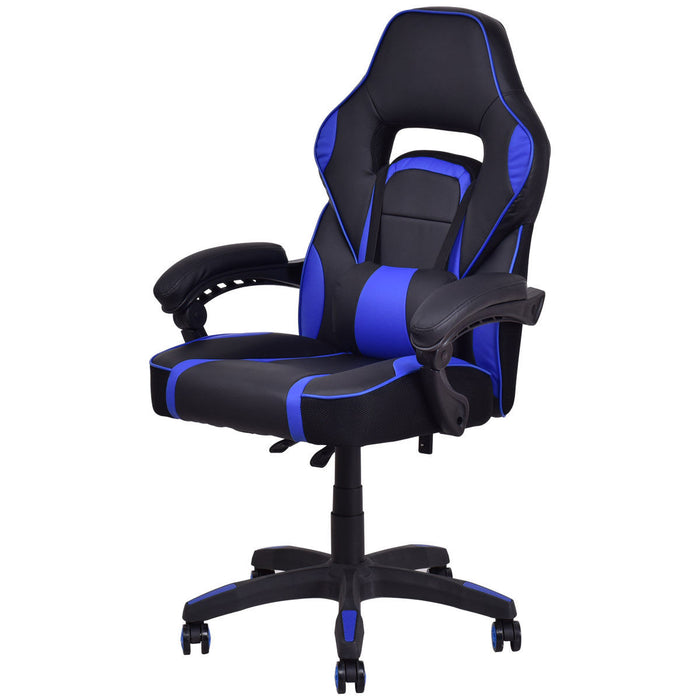 High Back Racing Style PU Leather Gaming Chair