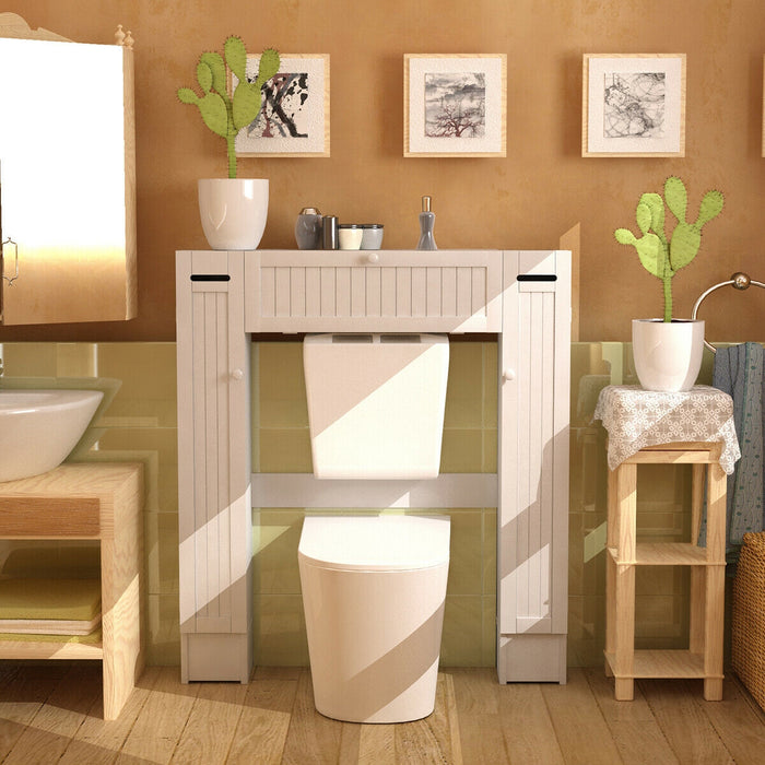 Wooden over the Toilet Storage Cabinet