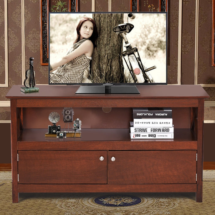 "44"" Wooden Storage Cabinet TV Stand"