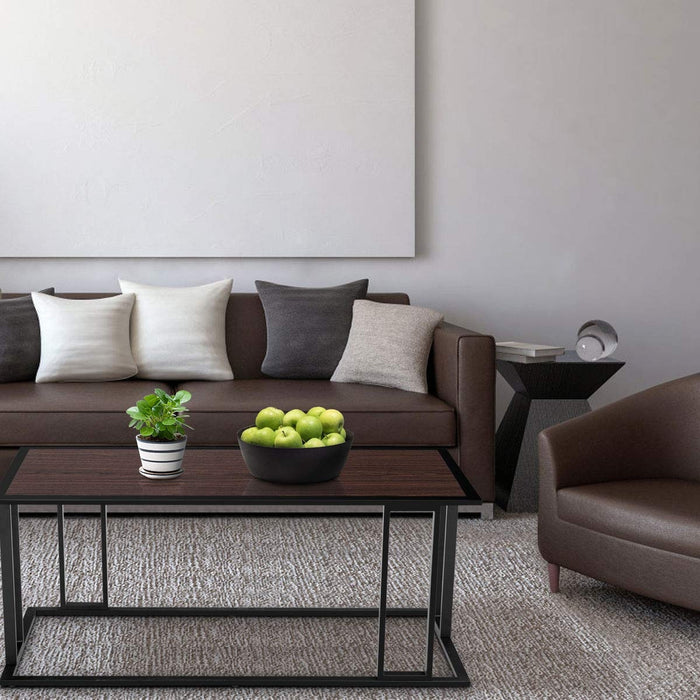 Living Room Essentials Cocktail Accent End Coffee Table